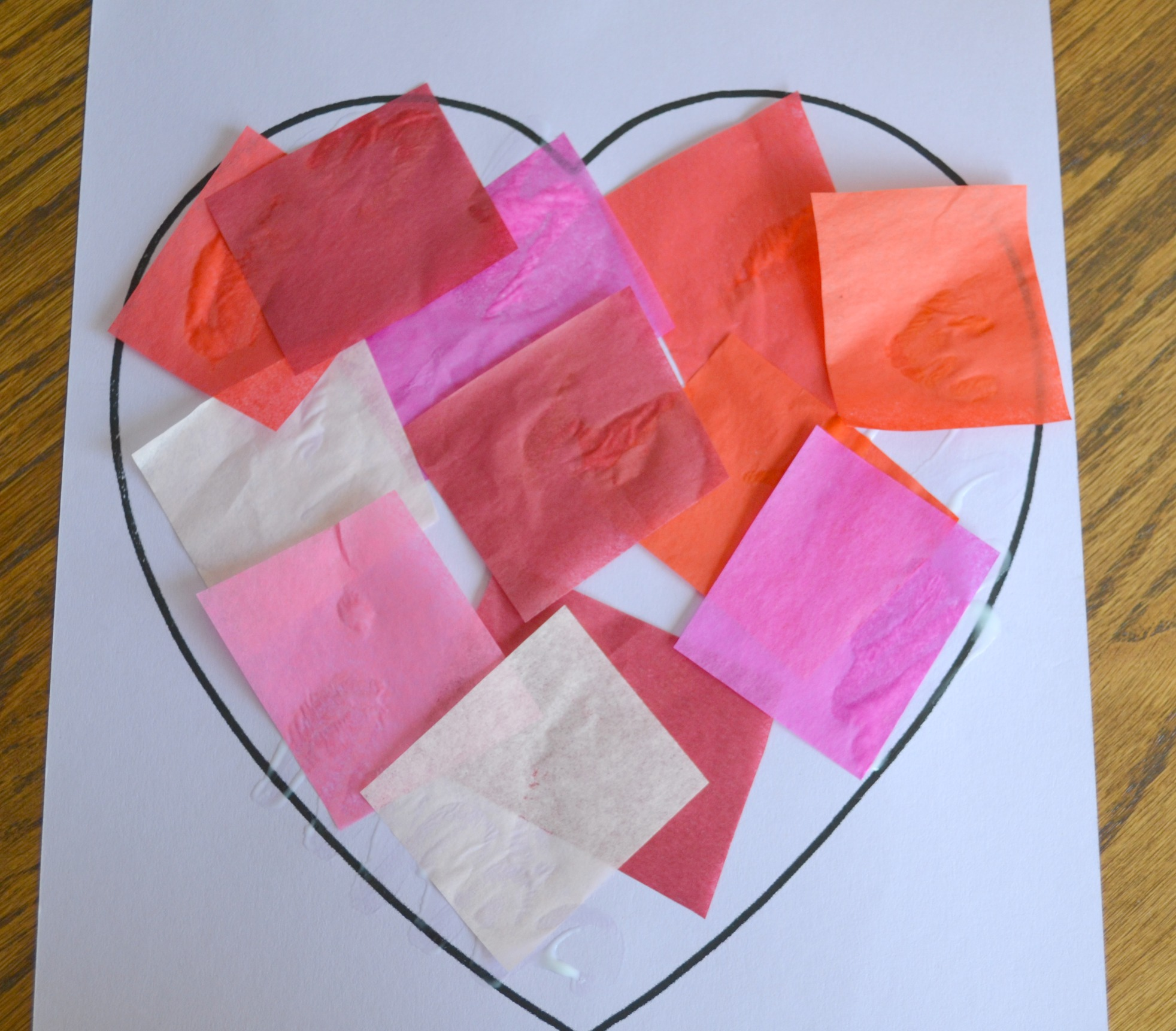 Hug a story of love for Valentines day art and crafts for preschoolers