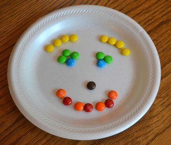 food counting: m&m's are marvelous & magical