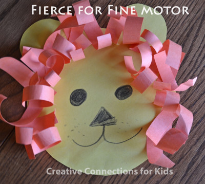 The Lion - Fierce Fine Motor!