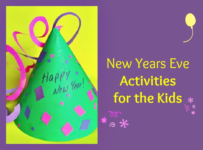 New years eve activities for the kids for New year s crafts for preschoolers