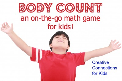 Body Count - an on-the-go math game for kids