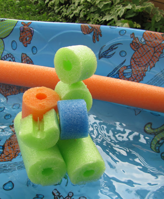 Pool Noodle - Sculpture
