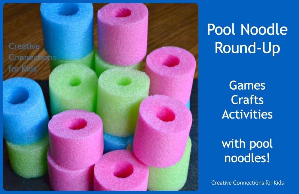 Pool Noodles - games, activities, crafts