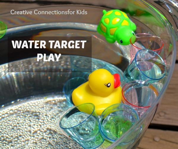 Water Target play