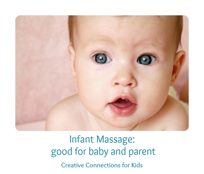 Infant Massage is good for parent and baby!