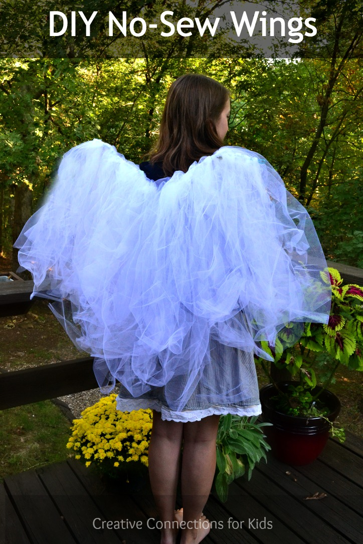 DIY No Sew Wings from Creative Connections for