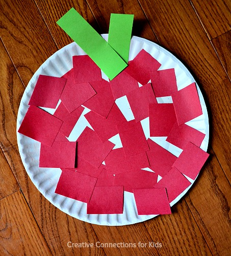 Fall Crafts for a Crowd - apple