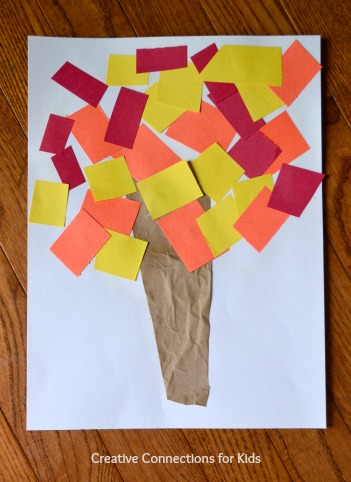Fall Crafts for a Crowd - tree