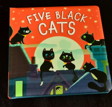 Black Cat Craft - Five Black Cats a book!