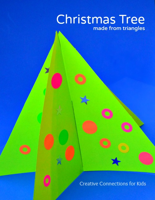 Christmas Tree made from triangles