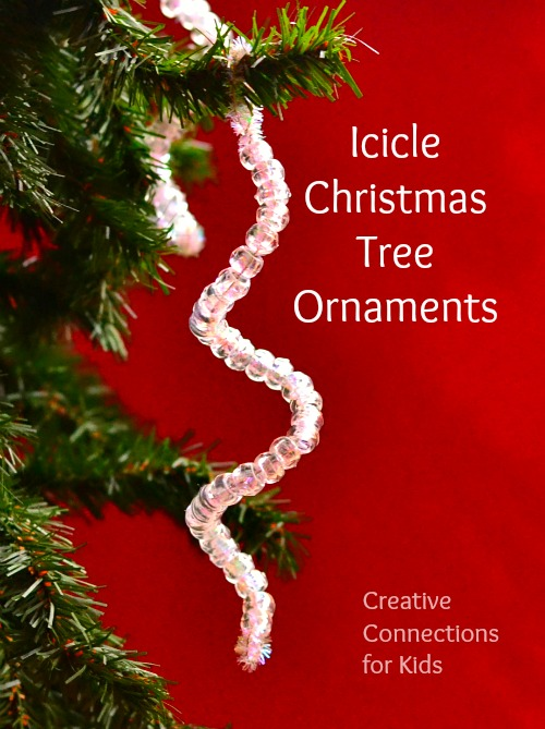 Icicle Christmas Tree Ornaments