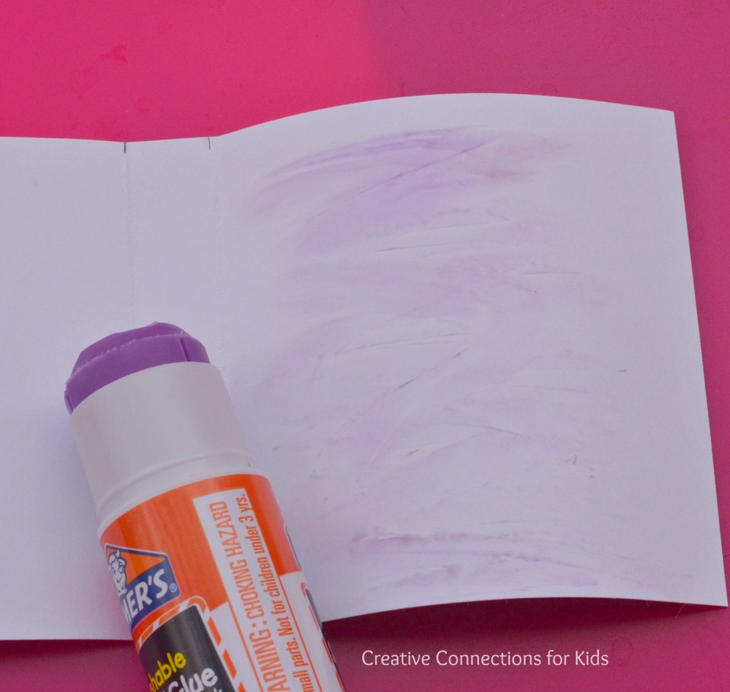 Post it note book - apply glue