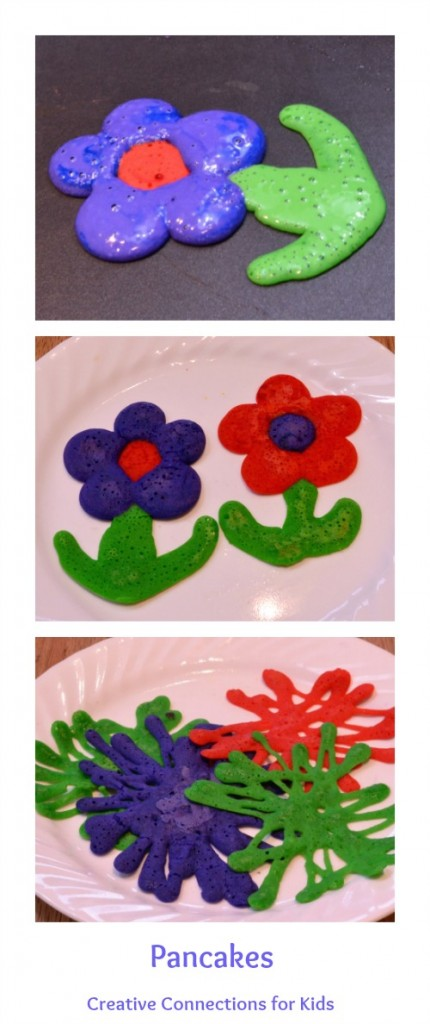 Pancakes- Colorful Creations