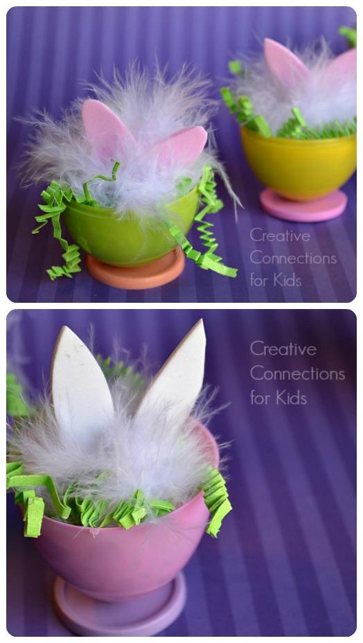 Easter Bunny Eggs - so cute!