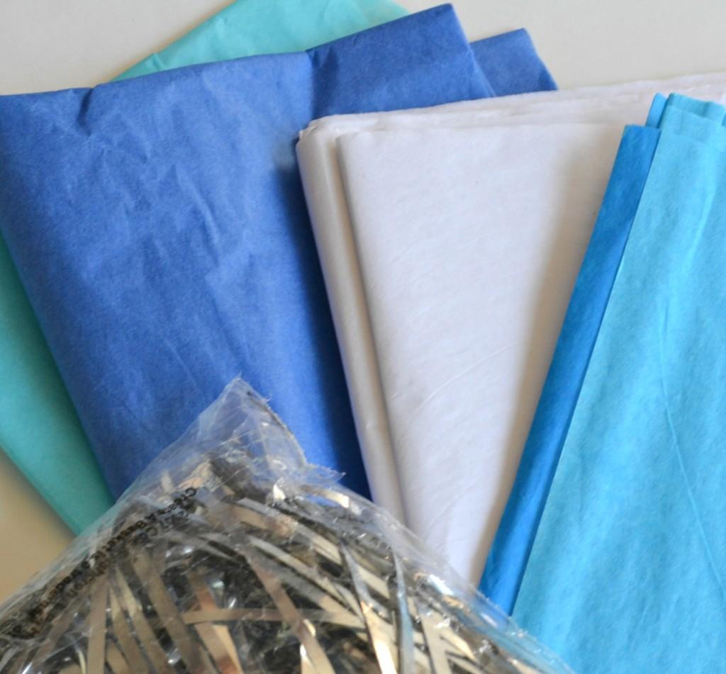 Sensory Box - Tissue Paper