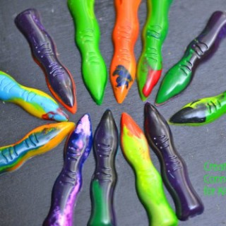 witch-finger crayons