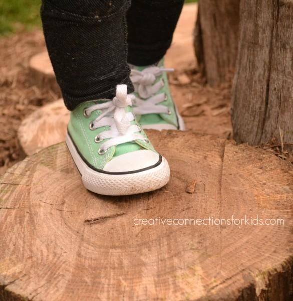 Log Walk - let's play!