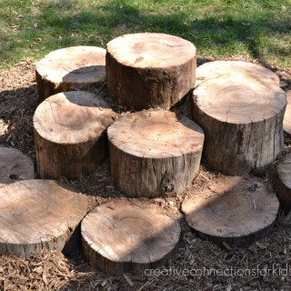 Log Walk on Creative Connections for Kids