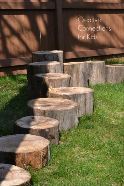 Log Walk - single file
